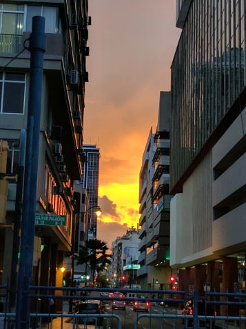 Sunset in Guayaquil