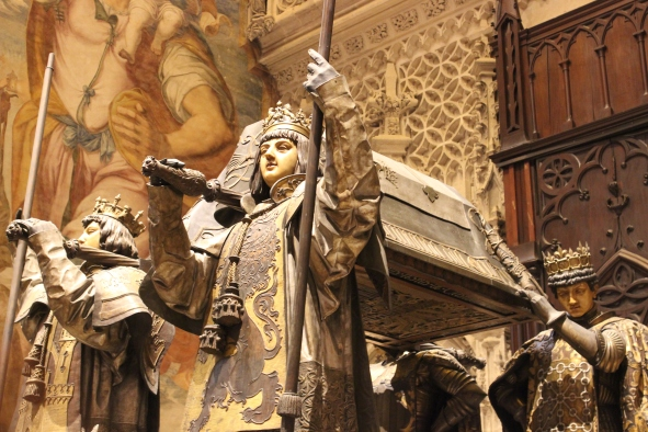 Tomb of Christoper Columbus
