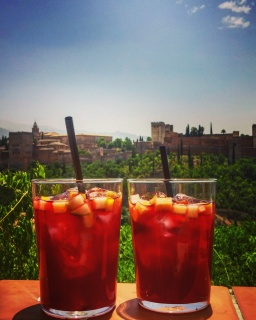 Sangria's over looking Alhambra