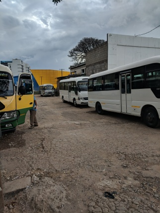 Bus Station to Valle de Angeles
